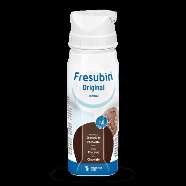 Normokalorischer Fresubin Original Drink (1,0 kcal/ml), 24x200ml, in Trinkflasche