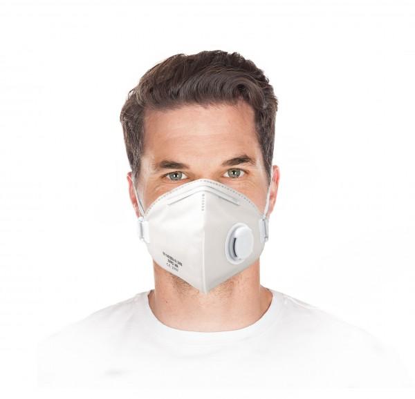 Atemschutzmaske mit Ventil FFP2 NR