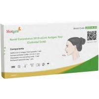 Hotgen Novel Coronavirus 2019-nCoV Antigen Test (Colloidal Gold) für Laienanwender einzeln verpackt