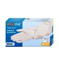 "Nitril-Handschuhe ""SL""   PF - Gr.M - 100stk - weiss"