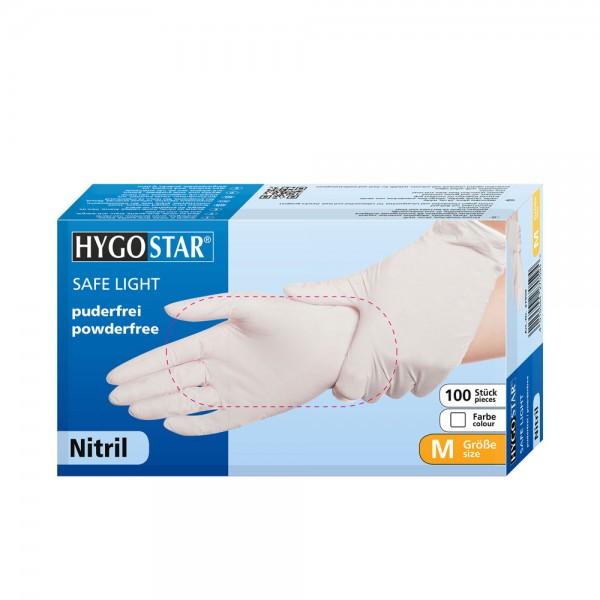 "Nitril-Handschuhe ""SL"" | PF - Gr.M - 100stk - weiss"