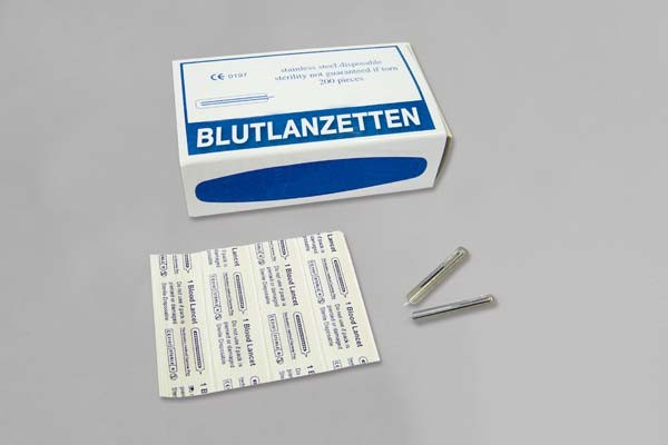 Blutlanzetten steril feather