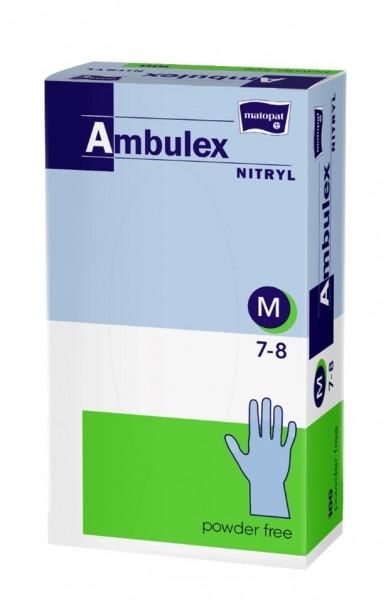 Nitril Handschuhe Gr. M - 100stk - Ambulex