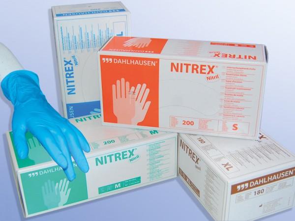 NITRIL Handschuhe ungepudert Gr.L- blau - 200stk