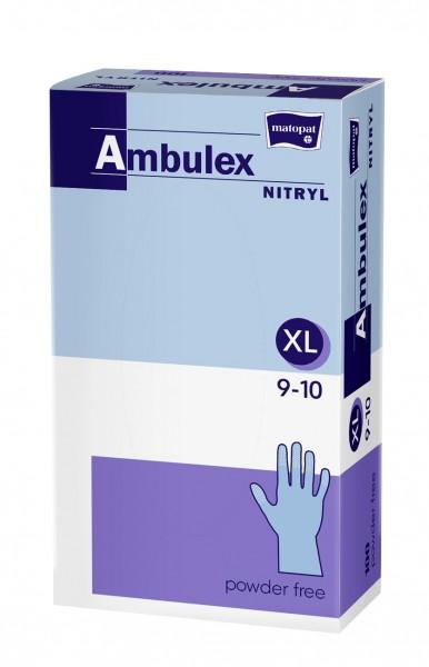 Nitril Handschuhe Gr. XL - 100stk - Violett - Ambulex