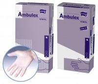 Handschuhe aus Vinyl Ambulex - Größe M